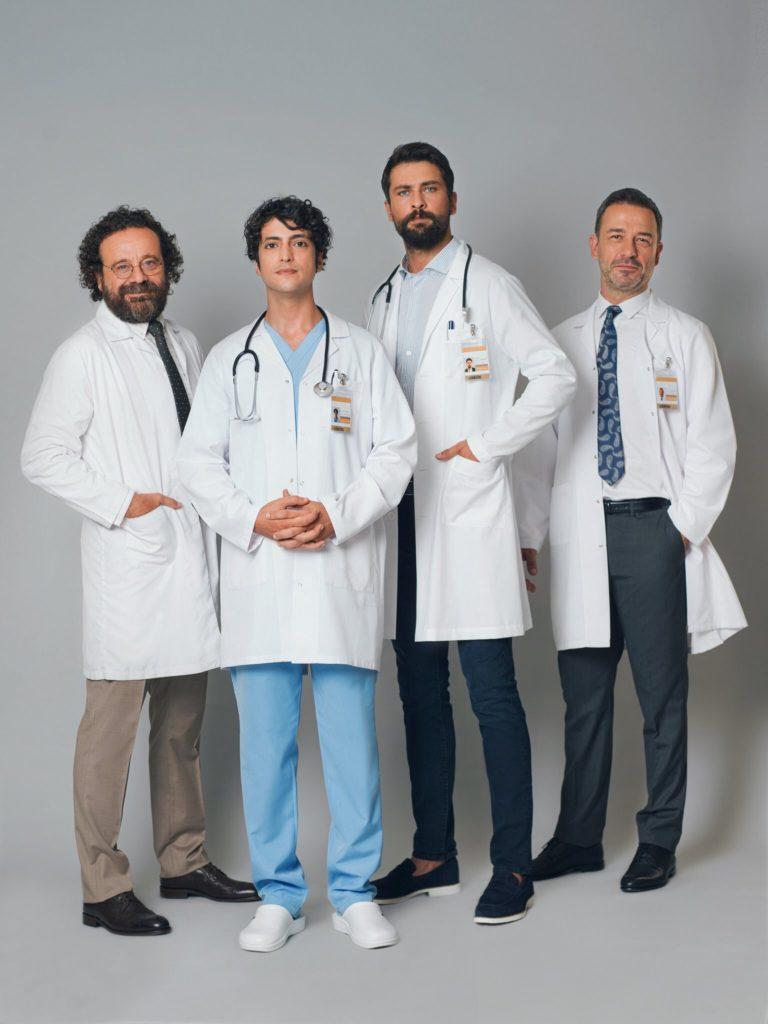 الترويجية الاولى لطاقم عمل الطبيب المعجزة