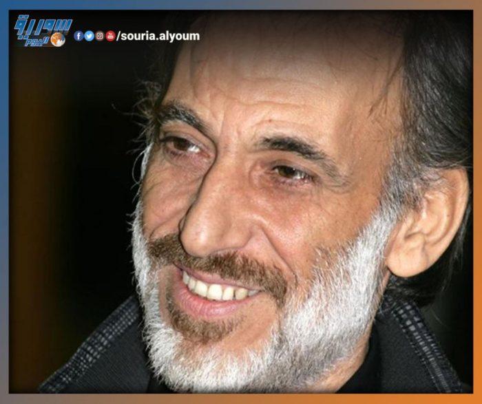 الفنان غسان بطل مسلسل مقابلة مع ادم