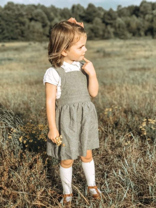 فستان للاطفال كيوت