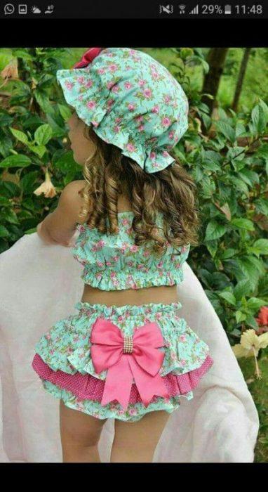 فستان للبنات مبهج اللزن